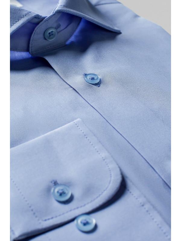 Camasa Bleu Uni Alpaca