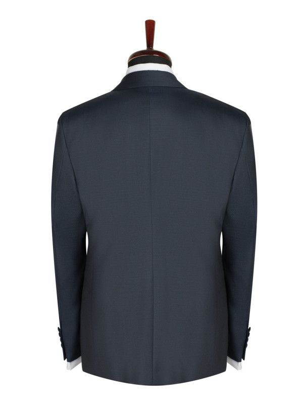 Sacou smoking slim fit gentlemen`s corner - ascot navy
