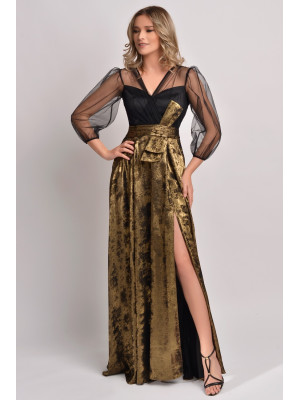 Rochie lunga eleganta Ginette