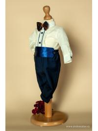 Costum Ralph - albastru (3luni-2ani) Andreeatex